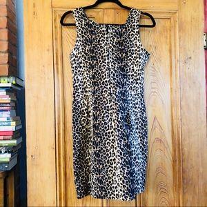 9634e940d1383 Vintage Leopard mini dress